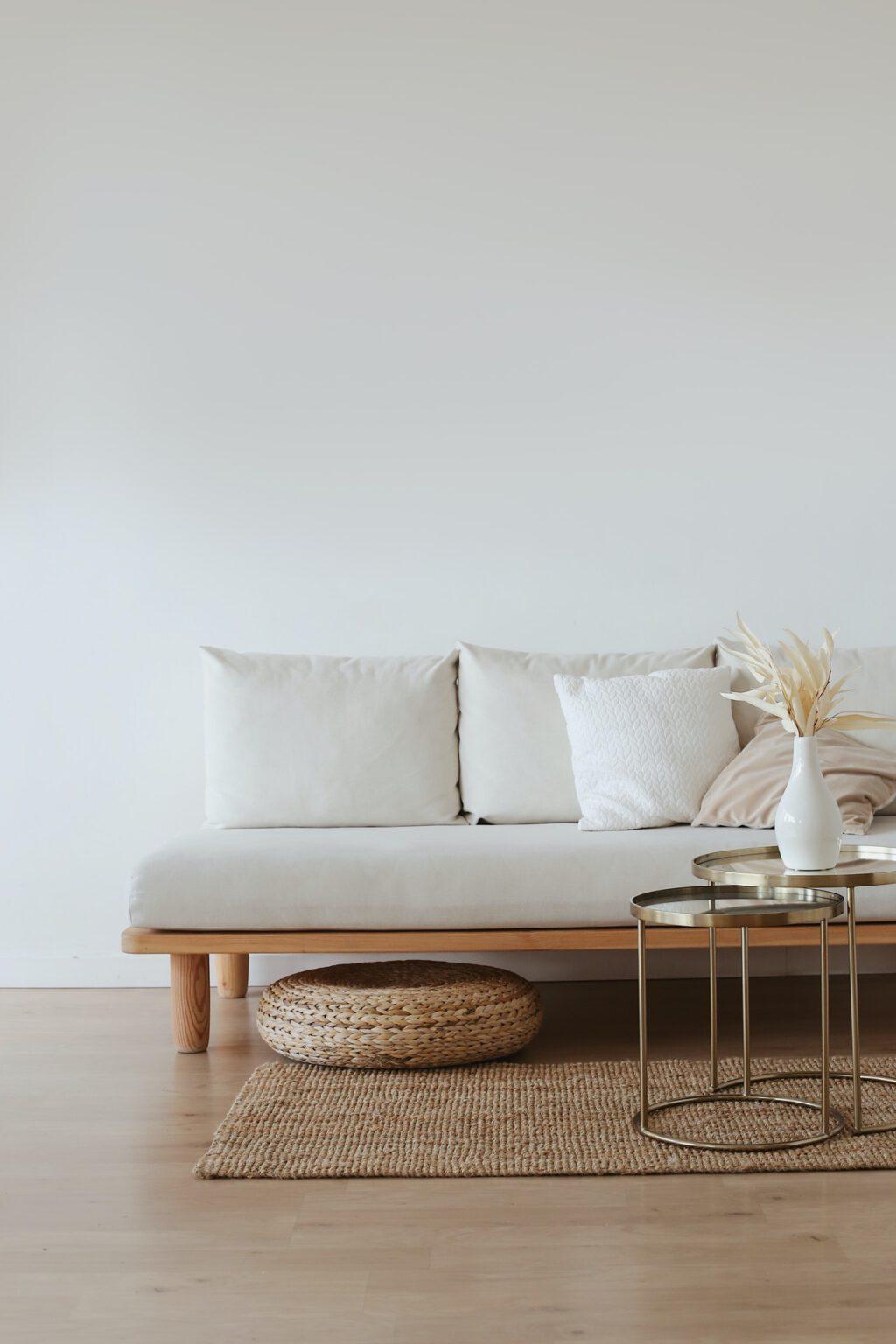Het huren van meubels